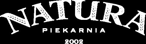 logo NATURA białe